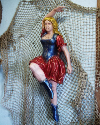 Circus Dancer Figurehead