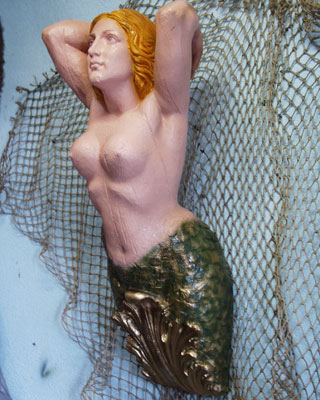 Large Mermaid Figurehead